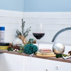 Your DIY Relaxing Bubble Bath: Before, During & After